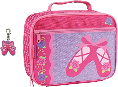 Stephen Joseph Girls Ballet Lunch Box with Ballet Shoes Zipper Pull Charm