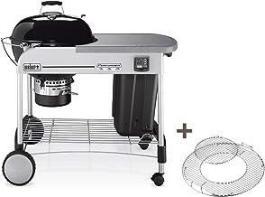 Weber Performer Premium GBS - Barbacoa (Barbacoa, Carbón Vegetal, 57 cm, Carro, Parrilla, Negro, Gris)