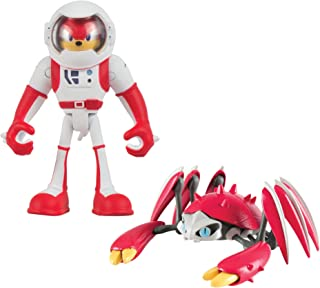 Tomy Sonic Boom 2 Figuras, Spacesuit Knuckles & Crabmeat Figura de acción