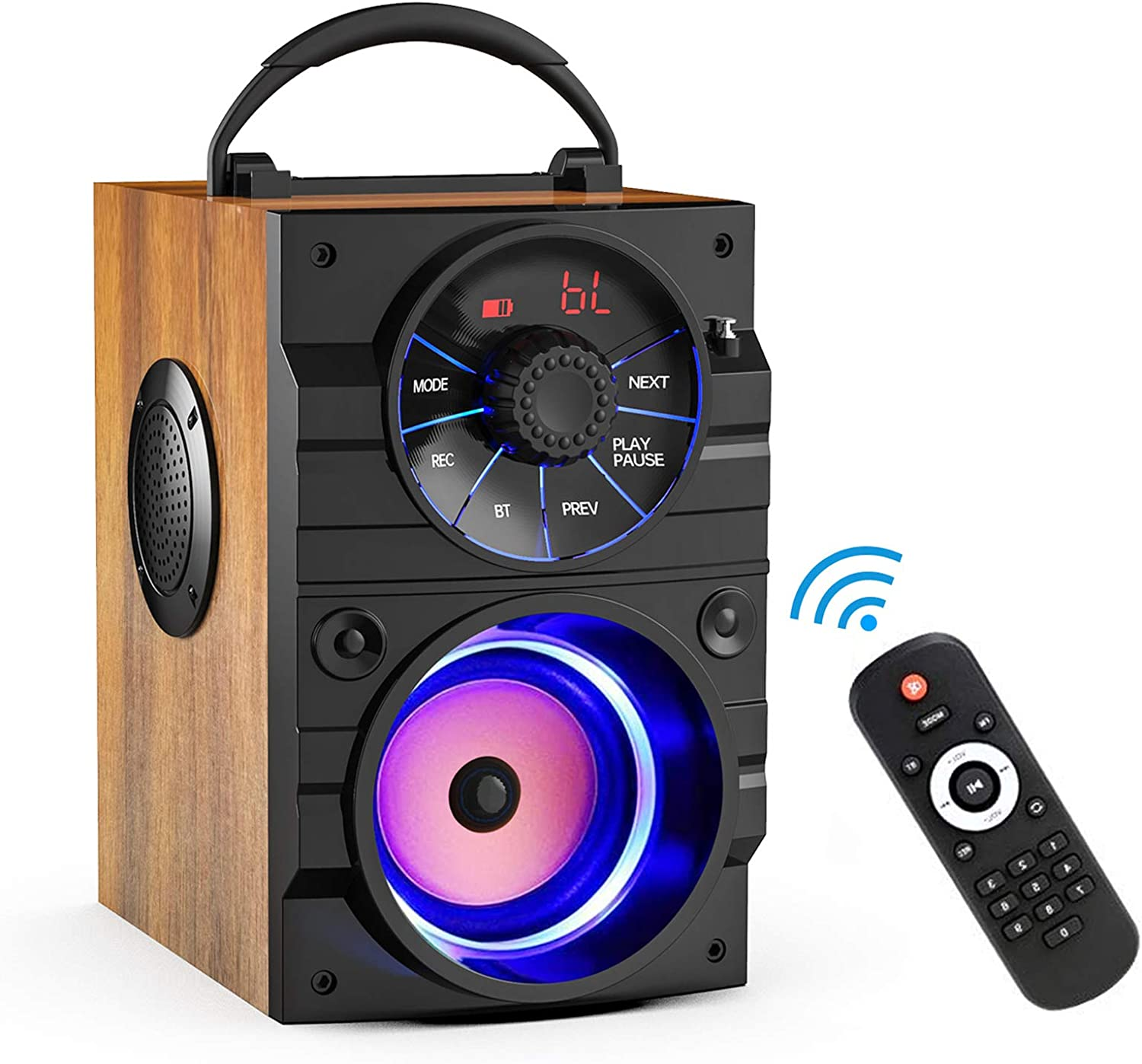 Portable Bluetooth Speakers with Subwoofer Rich Wireless St Super popular specialty store Bass Kansas City Mall