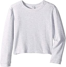 Super Soft Long Sleeve French Terry Top (Big Kids)