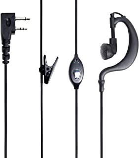 Auriculares con micrófono PNI HS82 con Conector Kenwood de 2 Pines