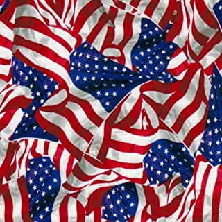 Hydrographics Film Water Transfer Printing Film Hydro Dipping Dip Film Hydrographic Film Hydro Dip American Flag 2 Film (Linear Meter (19