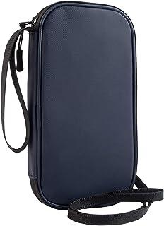 パスポートケース 首下げ RFID スキミング防止 ネックポーチ 貴重品入れ セキュリティケース 四つのパスポート 大容量 パスポート ポーチ、防水性、耐久性、軽量でポータブル パスポート バッグ ホルダー 海外旅行 便利グッズ NEWFIRE...