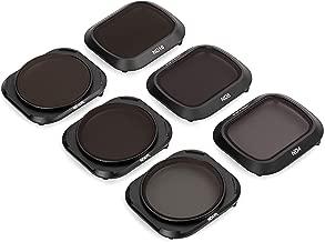 Tiffen Filters for Compact DJI Mavic 2 Pro Drone Including Neutral Density/Polarizer Kit, (MAV2PRO6KIT) 6 Filters, Black