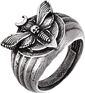 SanLan Death's Head Hawkmoth Moth Ring