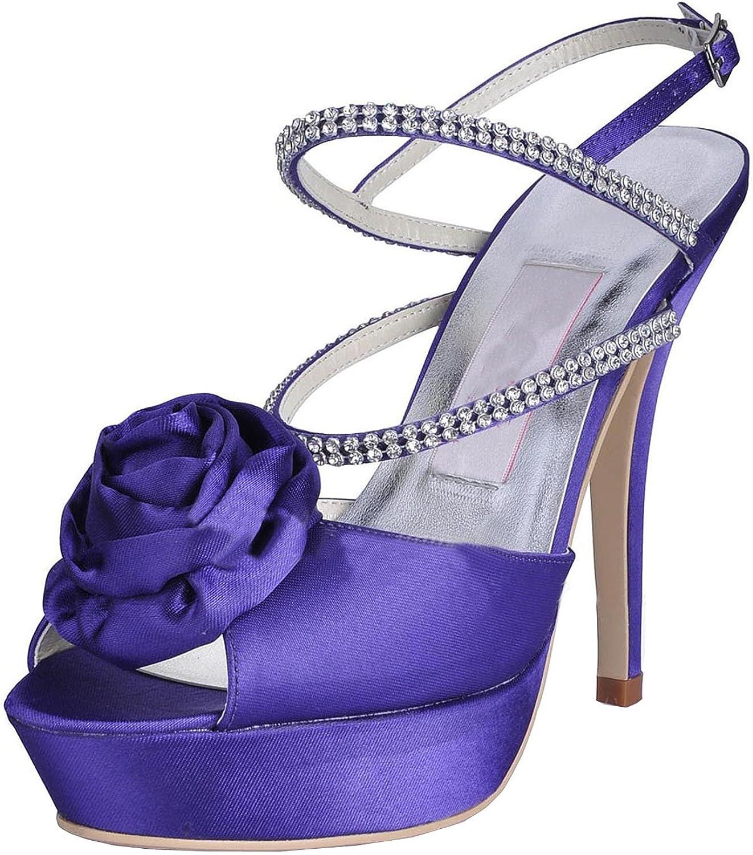 Minitoo MZ616 Womens Peep Toe Stiletto Heel Mary Jane Evening Satin Slingback Sandals shoes
