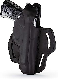 1791 - Beretta 92fs Thumb Break Holster - Right Handed OWB Leather Gun Holster - Fits Beretta 92FS, 90TWO, M9 / CZ 75,75b P07, P10, SP-01, P09