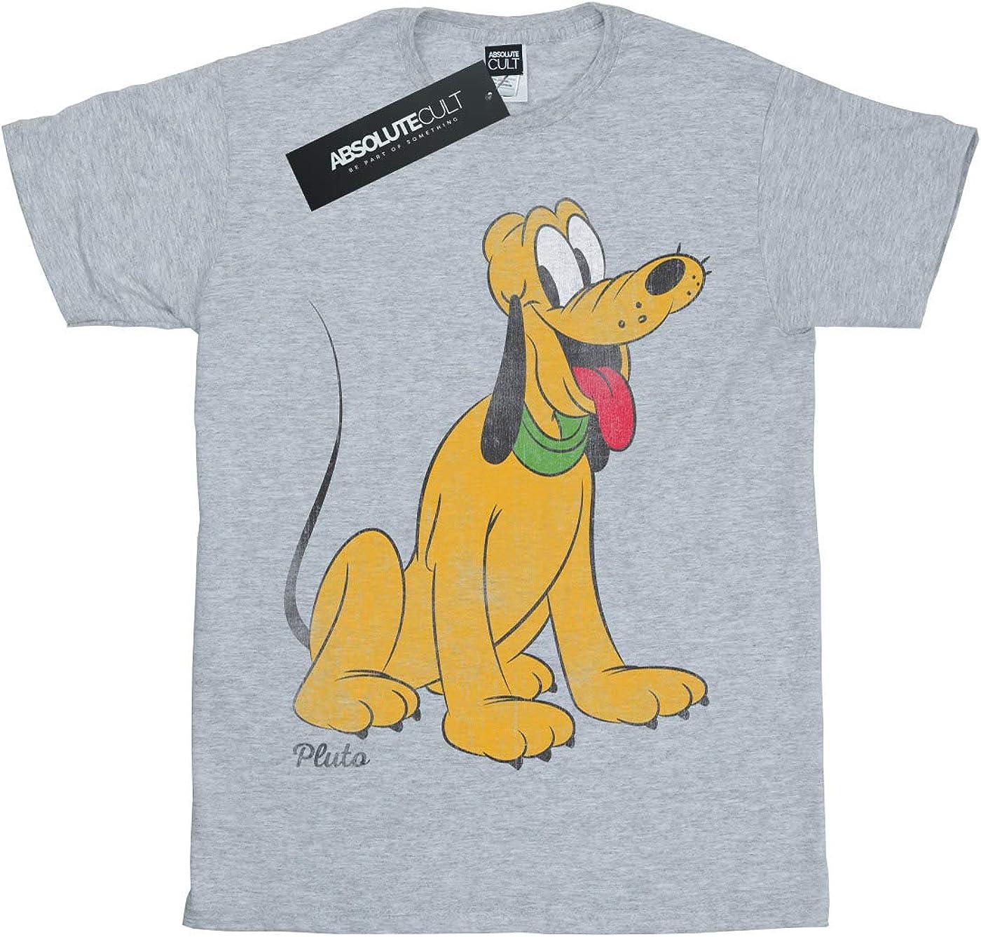 Disney Boys Mickey Mouse Classic Pluto T-Shirt