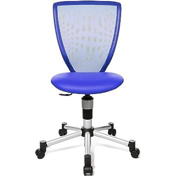 Schreibtischstuhl in blau