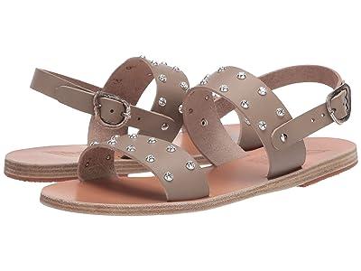 Ancient Greek Sandals Dinami Rivets (Stone) Women
