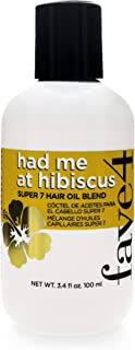 fave4 Had Me at Hibiscus Summer Hair Oil, 3.4 Fl Oz