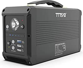 777SYD Portable Power Station, 230Wh Generator Lithium Battery 200W Power Station Emergency AC DC Power Supply with 110V AC Outlets, 12V/24V DC Ports, Flashlight, QC3.0 USB for Home Emergency Camping