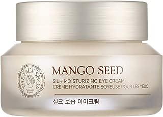 [THEFACESHOP] Mango Seed Silk Mositurizing Eye Cream For Dry Skin, 30mL/1.0Oz