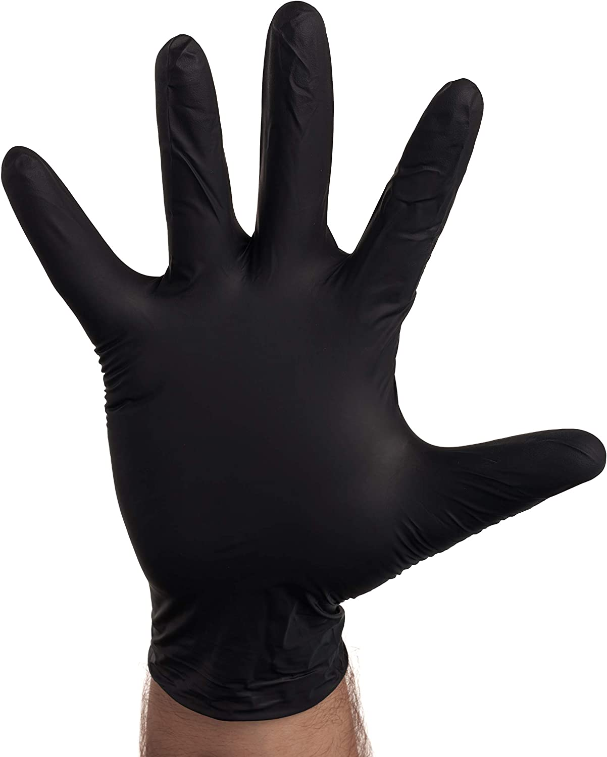 100 PACK Large Special price Black Our shop most popular Nitrile Exam Disposable R Latex - Gloves