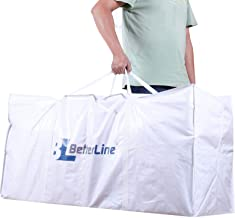 Extra Large Storage Bag - Heavy Duty 45x22x16 Inches Huge Tote Duffel with Max Load of 100 lbs. (45kg) - Tear-resistant & ...