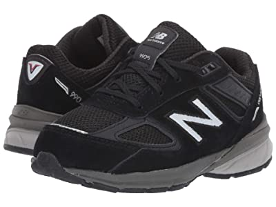 New Balance Kids 990v5 Launch (Infant/Toddler) (Black) Kids Shoes
