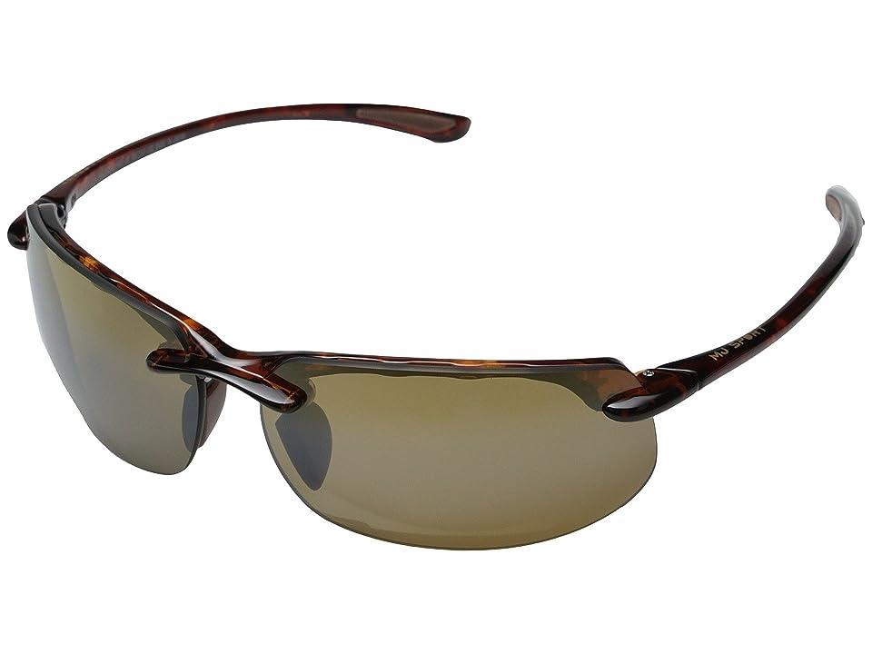 Maui Jim Banyans (Tortoise/HCL Bronze Lens) Sport Sunglasses
