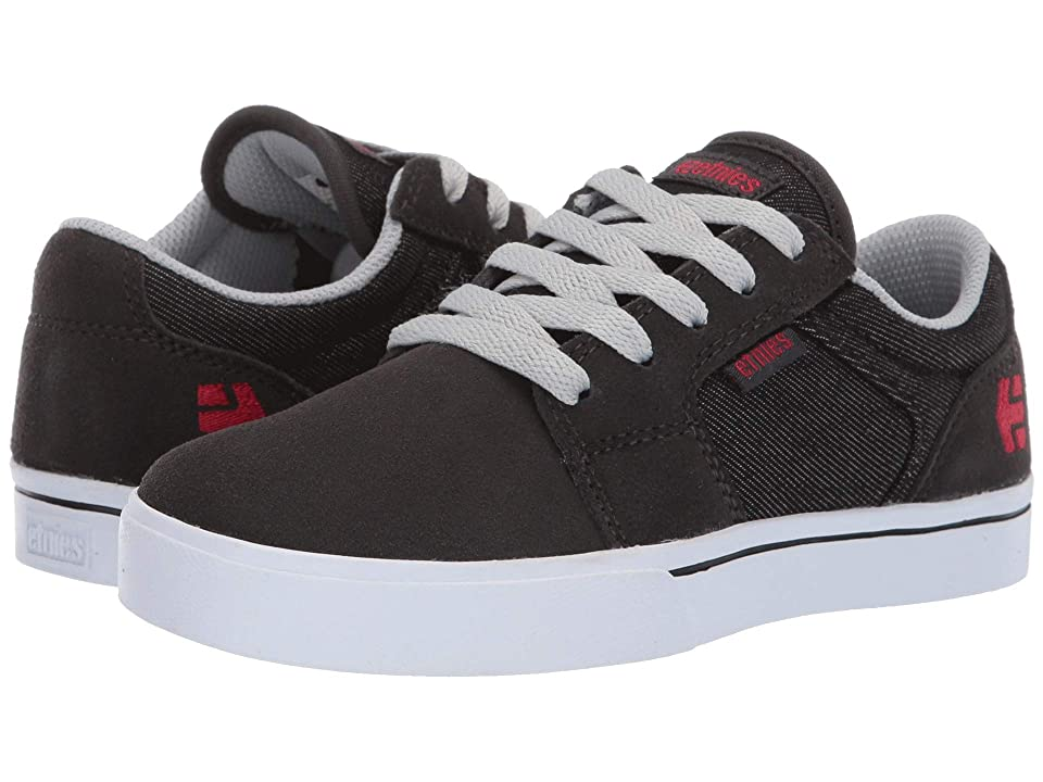 etnies Kids Barge LS (Toddler/Little Kid/Big Kid) (Charcoal) Boys Shoes