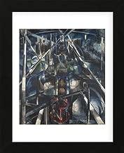 McGaw Graphics Brooklyn Bridge, 1919-20 by Joseph Stella Framed Print, 16x13x1, Multi