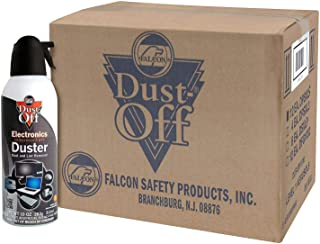 Dust-Off Disposable Compressed Gas Duster, 10 oz Cans, 12 Pack