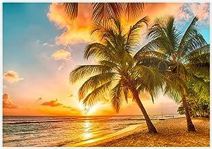 7x7FT Vinyl Photography Backdrop,Landscape,Calming Relaxing Scenery Photoshoot Props Photo Background Studio Prop
