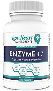 DIGESTIVE ENZYMES SUPPLEMENT - Includes Purified Ox Bile Salts - Tablets for No Gallbladder Sufferers - Enzyme for Digesti...
