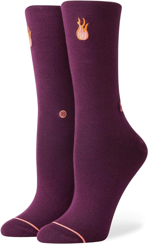 Stance Women's New item Baeday Wine Medium Socks Many popular brands