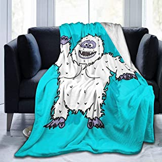 abominable snowman blanket