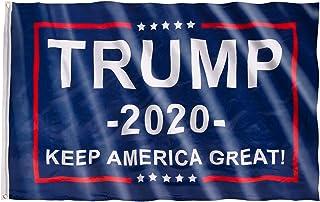 MATICAN Trump Flag 2020, 3x5 Feet Donald Trump Flag, No More Bullshi-t, Blue