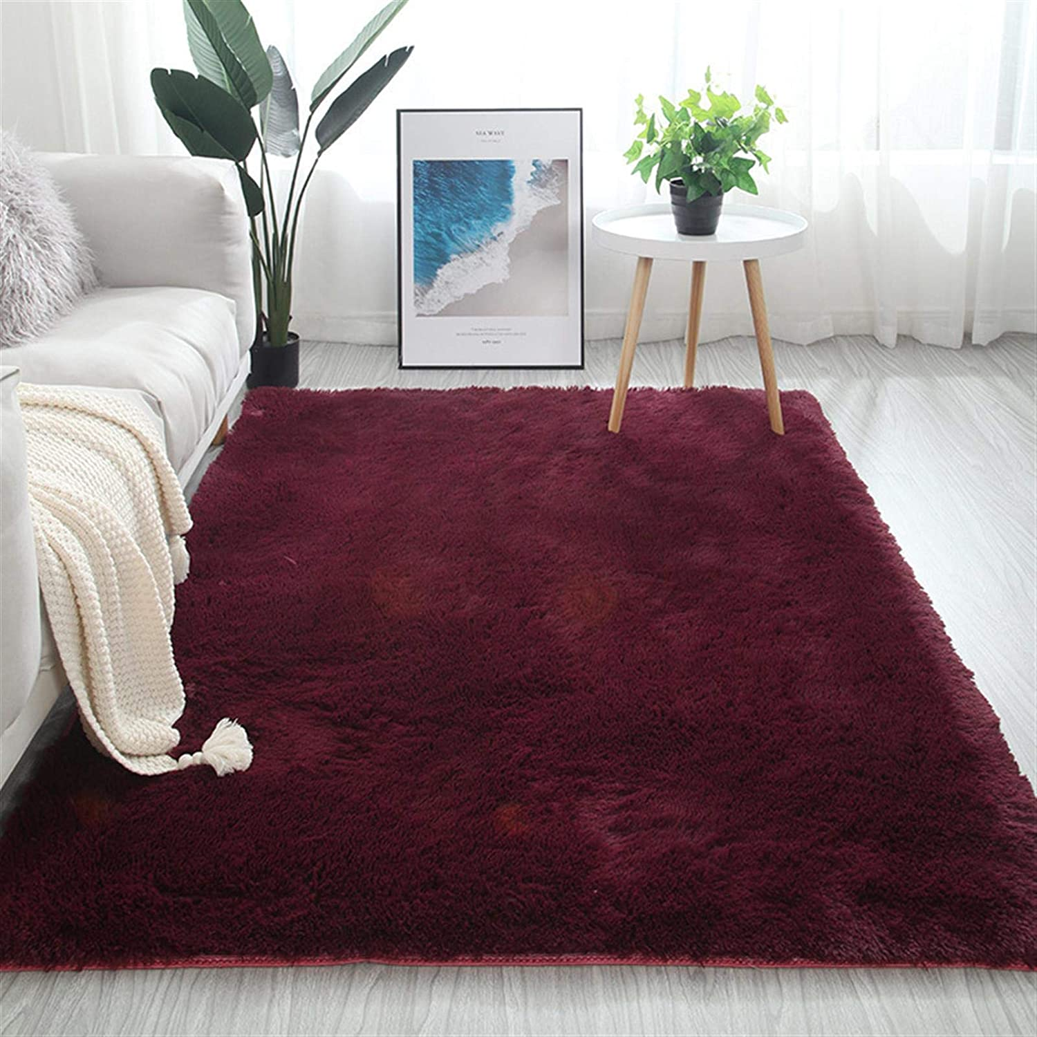 Rugs for Living Room Super Soft sale period limited Shaggy Topics on TV Plush Rug Modern Indoor