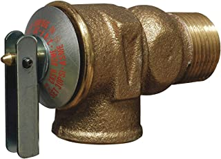 Cash Acme Brass Safety Relief Valve, FNPT Inlet Type, MNPT Outlet Type - F-30 Pack of 2
