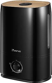 iTvanila Humidificateur d'air bébé, 5L Humidificateur Ultrasonique Silencieux, 40 Heures Temps de Fonctionnement, Nano-rev...