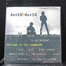 David + David - Welcome To The Boomtown / A Rock For The Forgotten - 7