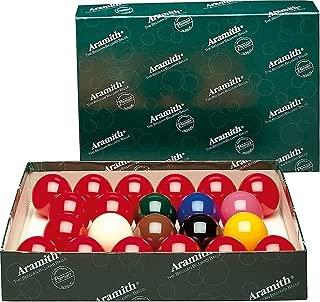 Aramith Premier English Snooker Balls 2 1/8 No Numbers Full 22 Ball Set