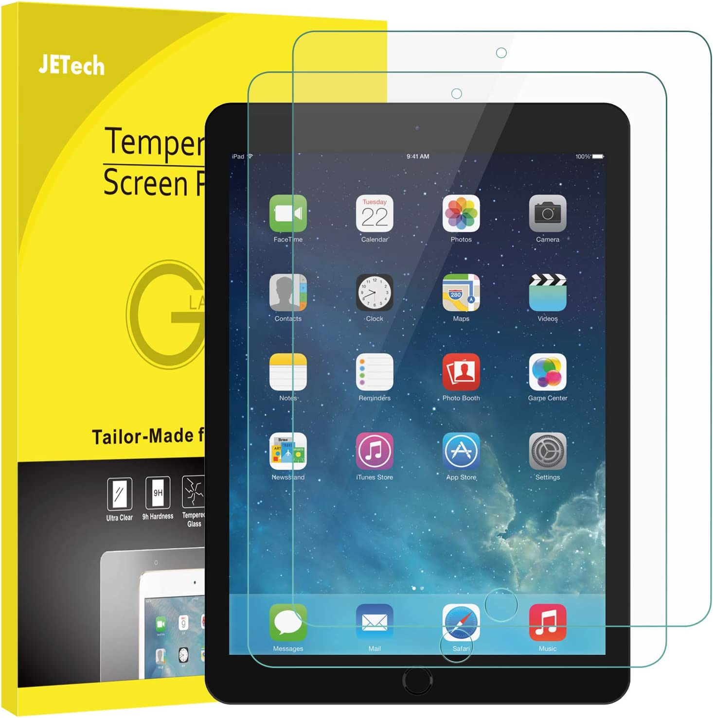 JETech Screen cheap Protector famous for iPad mini Not 4 2 Temper 3 1