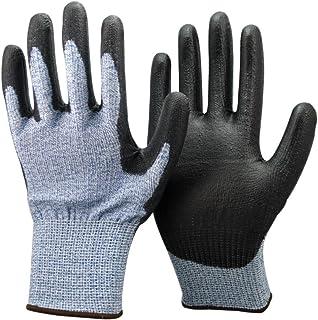 Unisex Negro y Azul anti Corte Nivel 5 (la más alta)