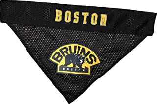 NHL Boston Bruins Bandana for Dogs & Cats, Large/X-Large. - Cute & Stylish Bandana! The Perfect Hockey Fan Scarf Bandana, Great for Birthdays Or Any Party!