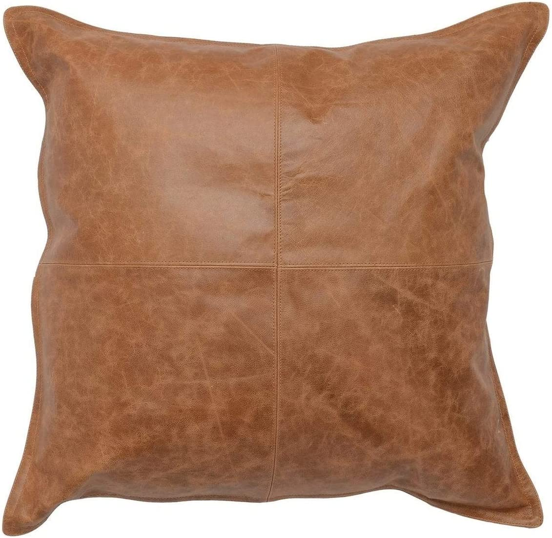 SKINOUTFIT Genuine Leather Decorative Modern Latest Max 50% OFF item Throw Pillow Covers