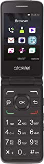 Tracfone Alcatel MyFlip 4G Prepaid Easy-to-Use Cell Phone for Seniors (Locked) - Black - 4GB - Sim Card Included - CDMA