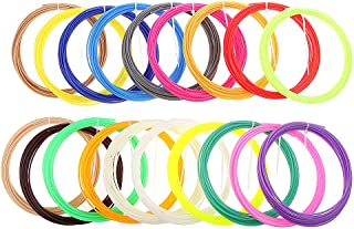 Generic Imported 20Pcs 5M Modeling Stereoscopic ABS Print Filament For 3D Drawing Printer Pen