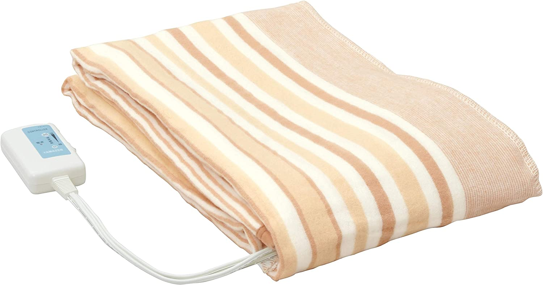山善 電気毛布 ダニ退治機能 丸洗い可