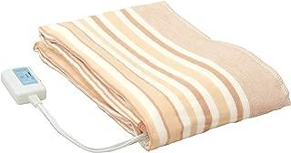 [山善] 電気毛布 掛け/敷き兼用タイプ 長方形 (188×130cm) (ダニ退治機能) (温度調節機能) (丸洗い可能) YMK-23 [メーカー保証1年]