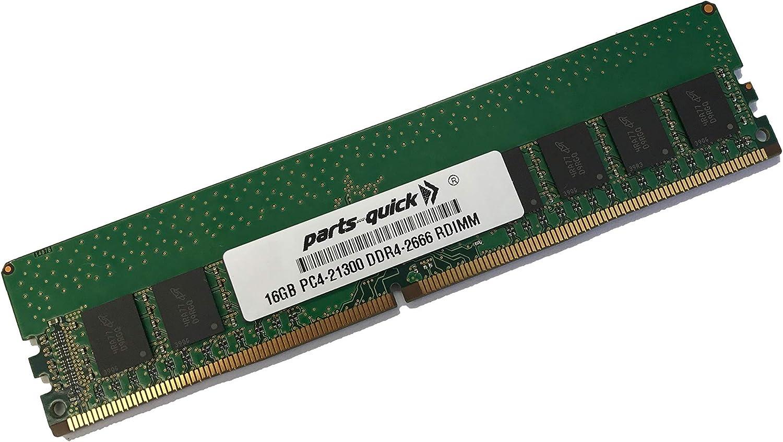 parts-quick 16GB Memory for Dell Precision 5820 Tower Compatible DDR4 ECC RDIMM 2666MHz