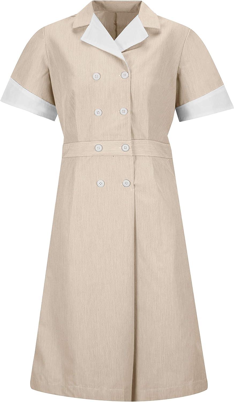 Red Great interest Kap New sales Women's Dress Lapel