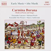 various voices carmina burana