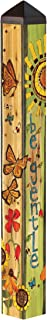 Studio M Voices for The Earth Gentle Earth Art Pole Decorative Garden Post, Made in The USA, 40 Inches Tall