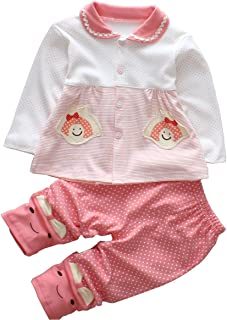 Trendy Baby Girl Clothes Sets Infant Outfits Toddler Pants Shirt Boutique Clothing