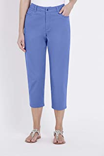 W.Lane Embroidered Crop Pant - Womens