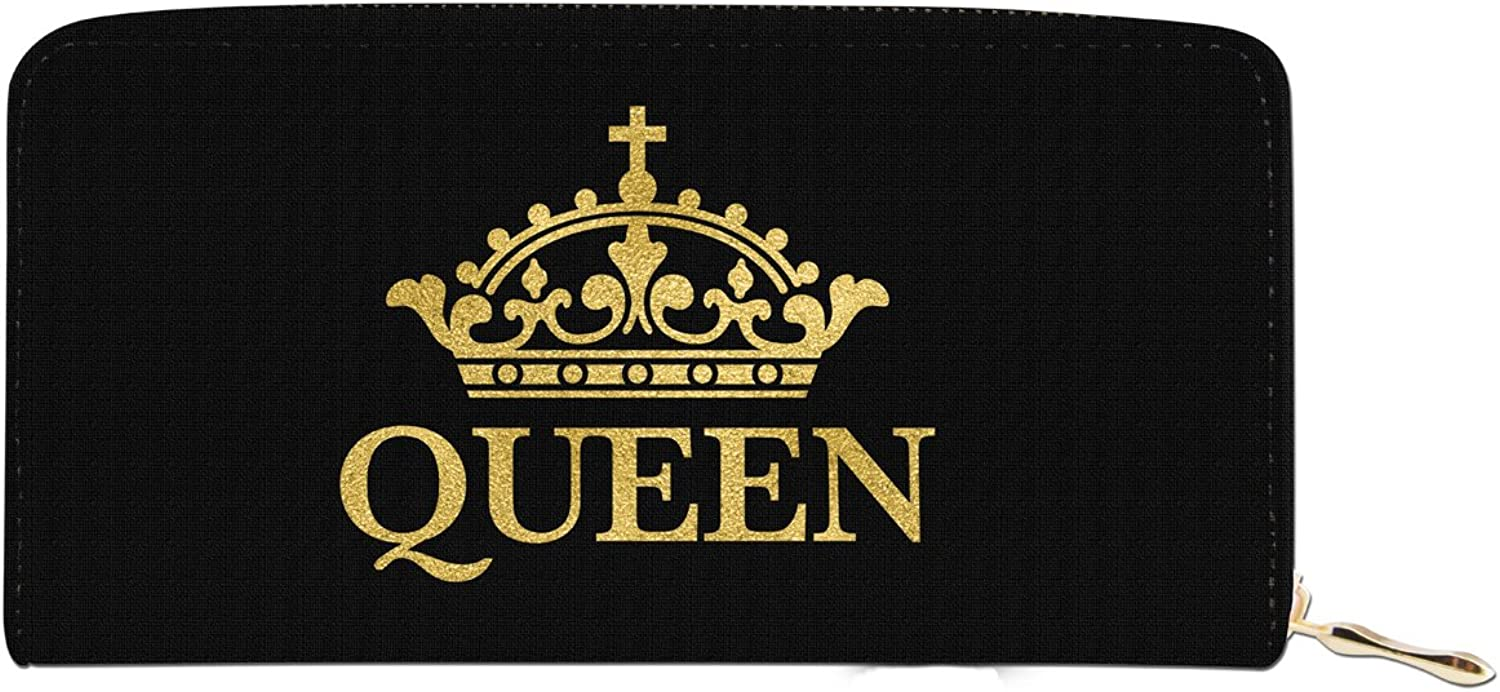 African American Expressions  Queen Wallet (4  x 7.75  x 1    8 card slot)  WL03